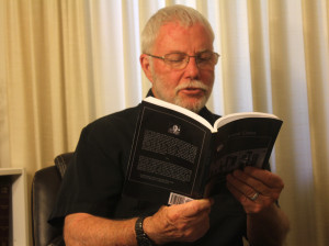 don  reads about the rumored underground tunnels in Bakersfield. He reads from his book Local Color.