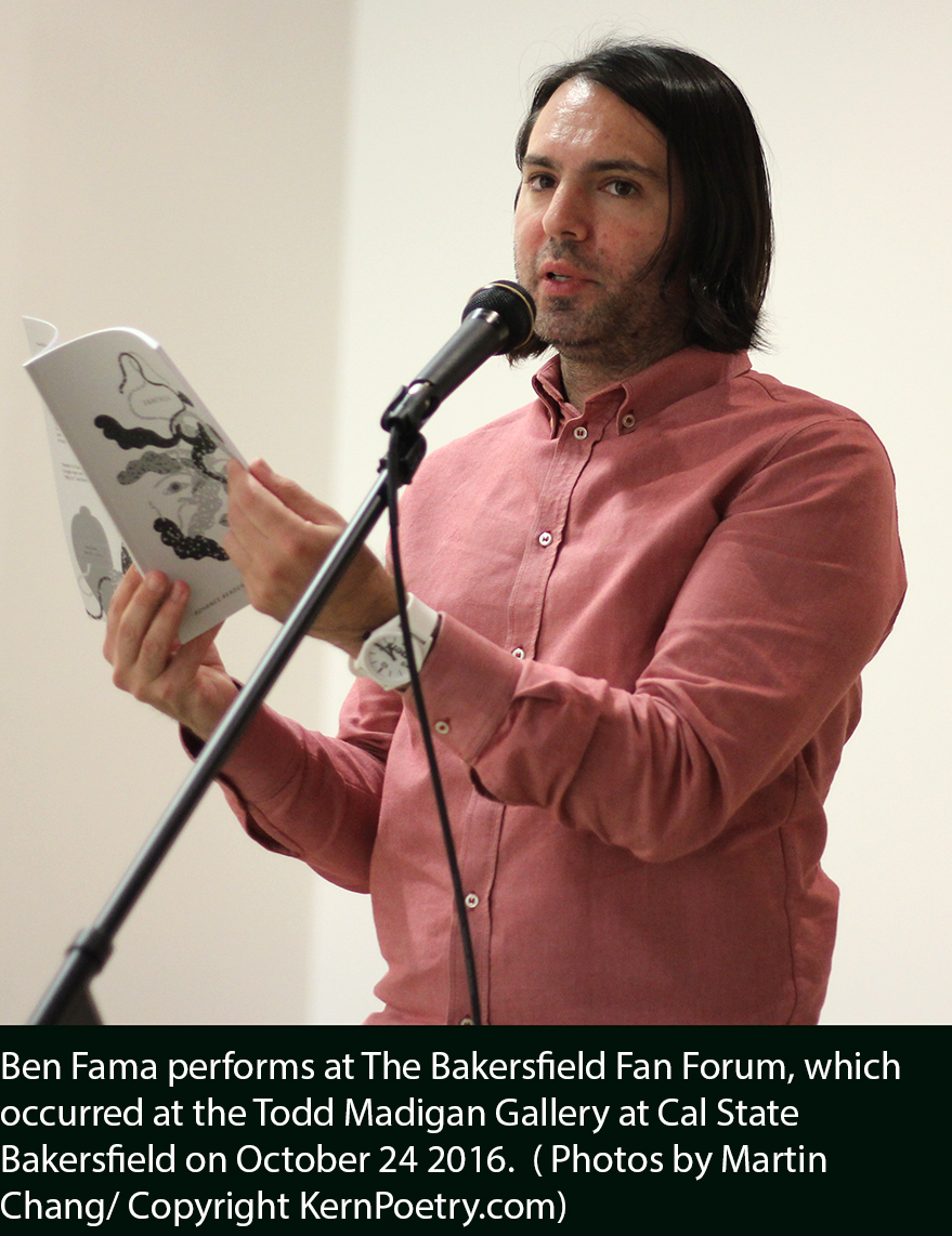 The Bakersfield Fan Forum Gallery and Pop-Up Store | Kern Poetry