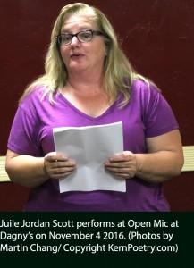 Julie resize text